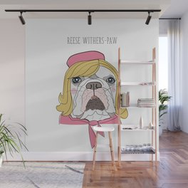 Celebrity Dogs-Reese Withers-Paw Wall Mural
