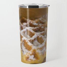 warm waffle time Travel Mug