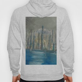 city by the sea Hoody