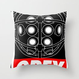 OBEY - Big Daddy Throw Pillow