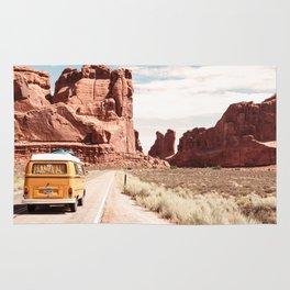 Desert Road Trip Rug