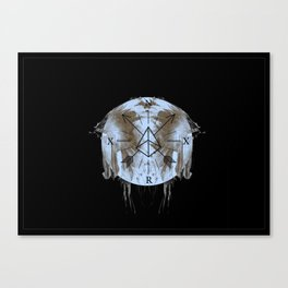 Compass Print Canvas Print