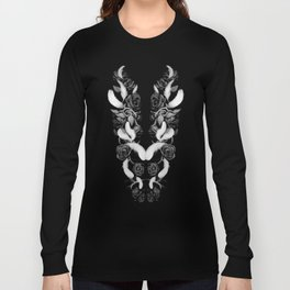 Roses and Feathers Long Sleeve T-shirt