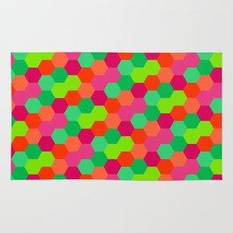 Hexagonal Pattern Rug