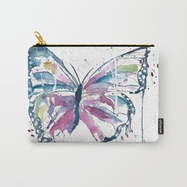 Vibrant Butterfly Carry-All Pouch