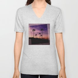 Postcards from the Beach Unisex V-Neck