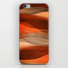 """""""Sea of sand and caramel waves"""" iPhone Skin"""