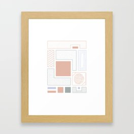 Quite Basic #3 Framed Art Print
