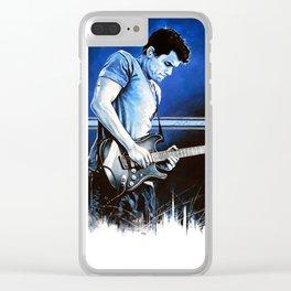 John Mayer Blues Clear iPhone Case