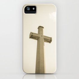 At the cross iPhone Case