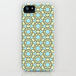 Modern Times 2.0 Pattern - Design No. 2 iPhone Case