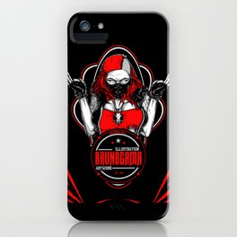 Bad Girl iPhone Case