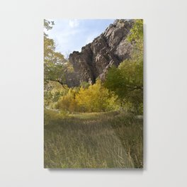 Autumn Mountains Metal Print