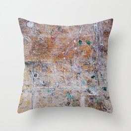 Crumbs From Your Table Throw Pillow