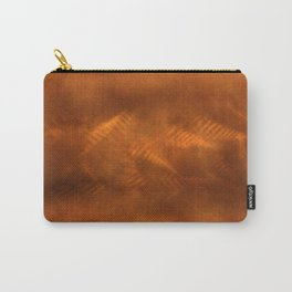 Orange copper Carry-All Pouch