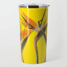 strelitzia - Bird of Paradise Flowers II Travel Mug