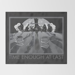 Time Enough At Last Throw Blanket