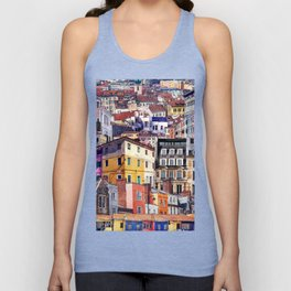 City Structures Collage Unisex Tank Top