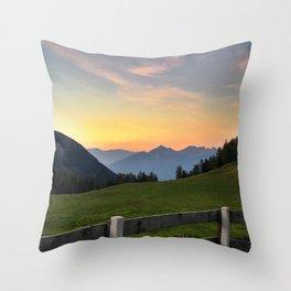 Kemater Alm Throw Pillow