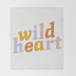 Wild Heart Throw Blanket