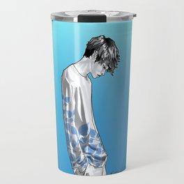 FLOWER BOY TWO: BLUE Travel Mug