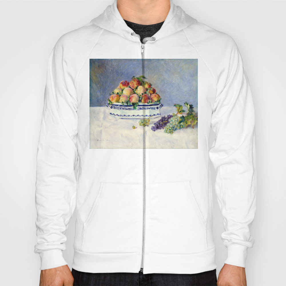 "Auguste Renoir """"still Life With Peaches And Grapes… Hoody by Alexandra_arts"" SSR9097175"