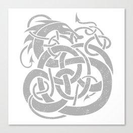 JÖRMUNGANDR Canvas Print