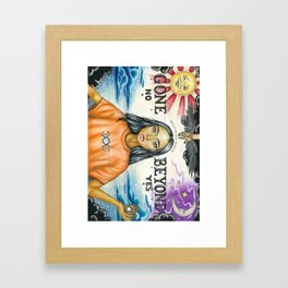 Gone Beyond Framed Art Print