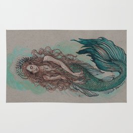 Mermaid Sea Enchanter Rug
