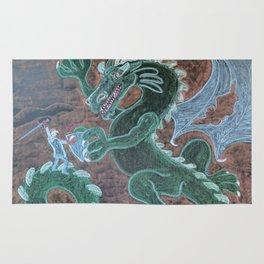 St. George Battles the Dragon Rug