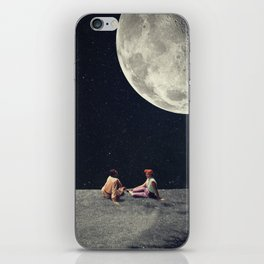I Gave You the Moon for a Smile iPhone Skin