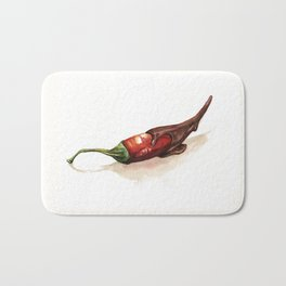 Chocolate Covered Pepper Bath Mat