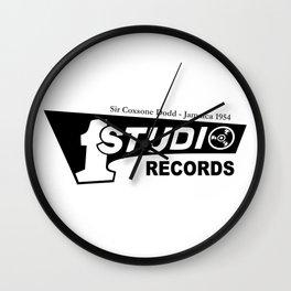 Studio One - Sir Coxsone Dodd (Common Style) Wall Clock