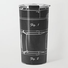 Pontiac GTO patent print. Pontiac GTO chalkboard poster Travel Mug