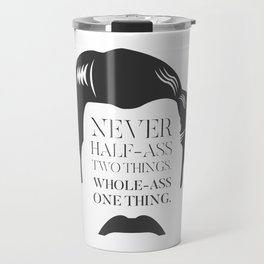 Ron Swanson Travel Mug