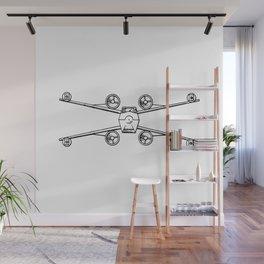 xwing Wall Mural