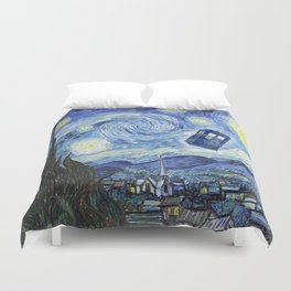 Vincent and The Doctor 2 Duvet Cover