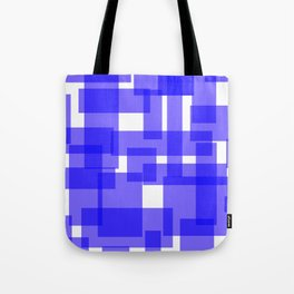 Blue Tetris Tote Bag