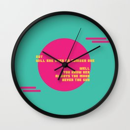 Number Two Wall Clock