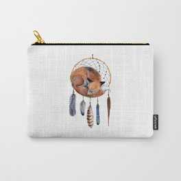 Fox Dreamcatcher Carry-All Pouch