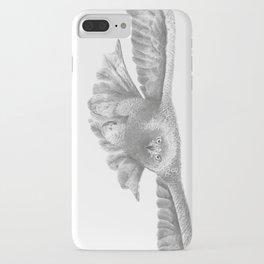 Golden eagle in flight, Aquila Chrysaetos iPhone Case
