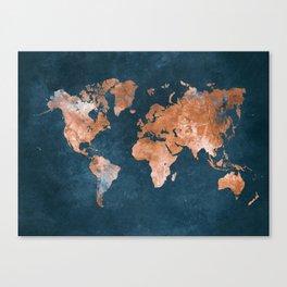 World map canvas prints society6 gumiabroncs Choice Image
