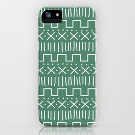 Forest Mud Cloth iPhone Case