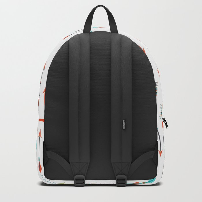 AFE Tribal Inspired Arrows Backpack