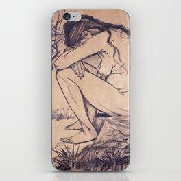 Sorrow by Vincent van Gogh, 1882 iPhone Skin