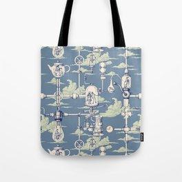 Apnea City Tote Bag