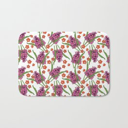 Sultry Summer - Orchids Bath Mat