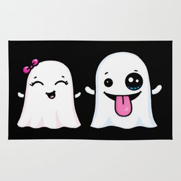 Ghost Couple Rug