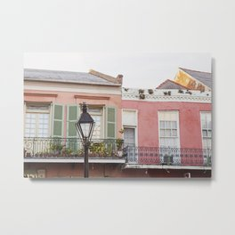 New Orleans Golden Hour in the Quarter Metal Print
