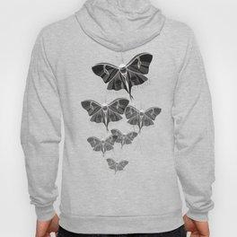 Noctural Ghost Moth Hoody